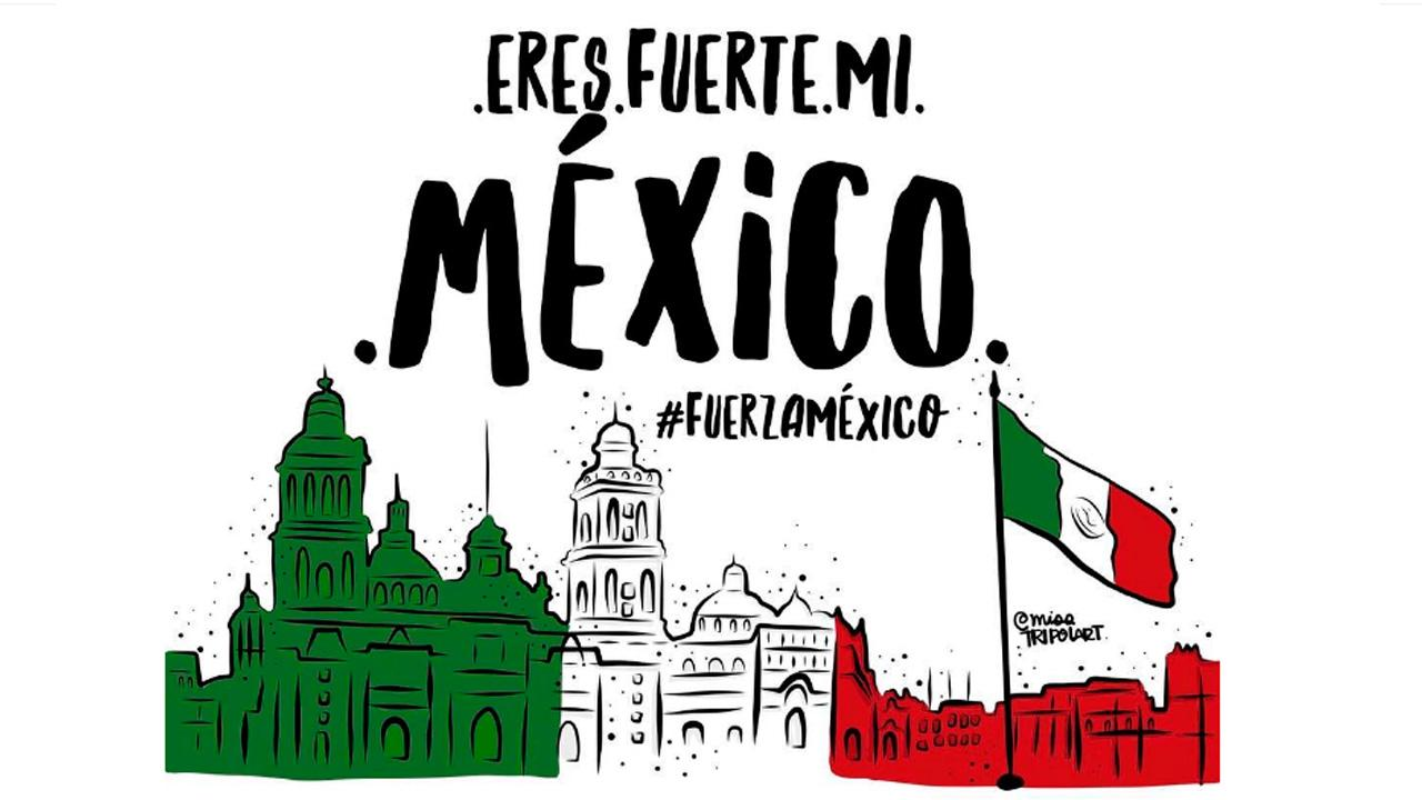 #FuerzaMéxico